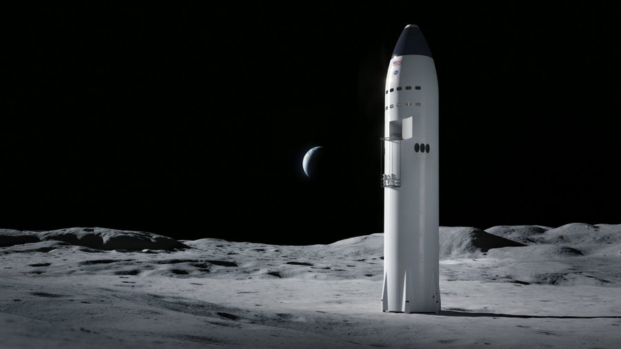 НАСА выбрало три фирмы, которые будут участвовать в программе создания корабля для посадки на Луну - 3