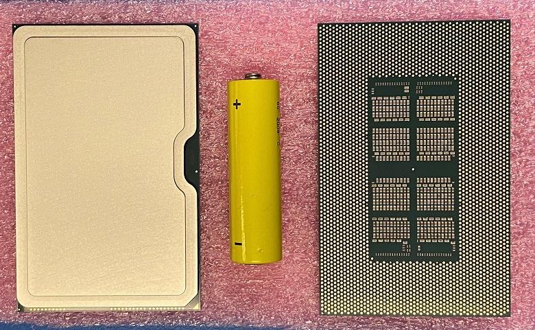 Очень странный гигантский «процессор» Intel. Что это такое, пока неясно