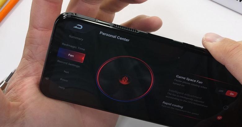 Влияет ли наличие вентилятора в смартфоне на прочность? Испытание Nubia Red Magic 5G показало, что нет