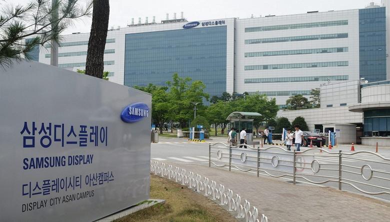 Пожар вынудил Samsung Display остановить одну из линий по выпуску панелей OLED на заводе в Асане