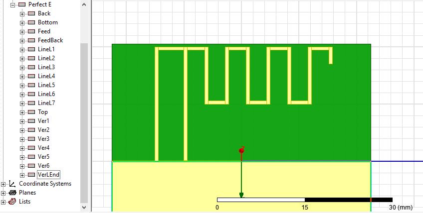 Моделирование меандровой инвертированной-F антенны – это просто - 11
