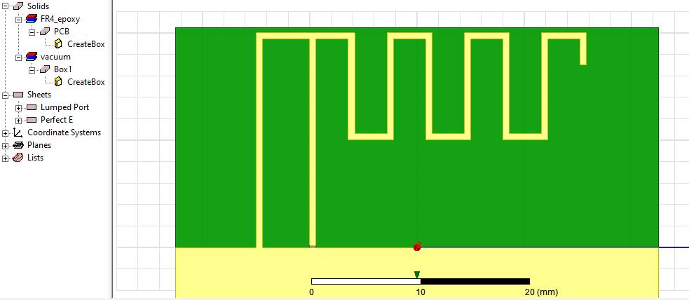 Моделирование меандровой инвертированной-F антенны – это просто - 13