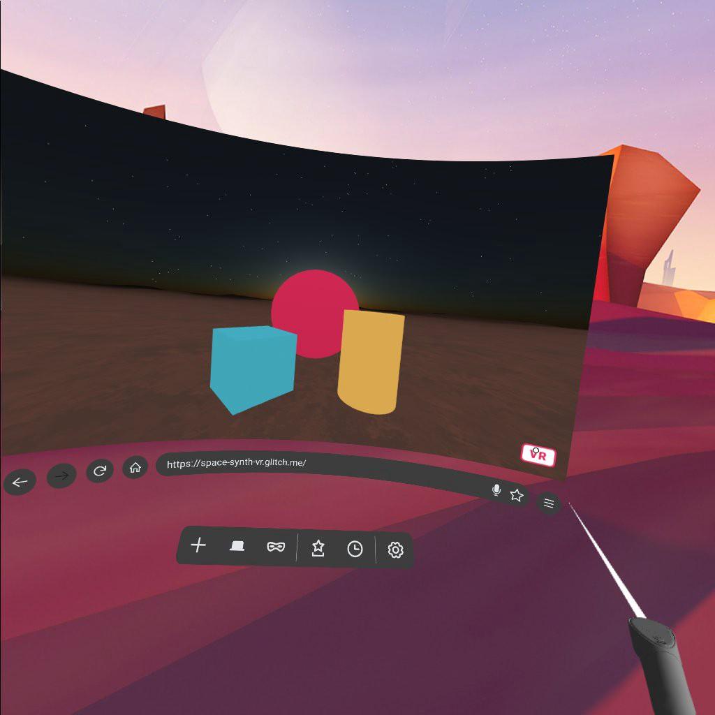 Firefox Reality в Oculus Go