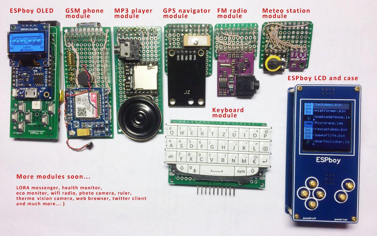 Часть 2: Mодули и AppStore. ESPboy — гаджет для ретро игр и экспериментов с IoT - 4
