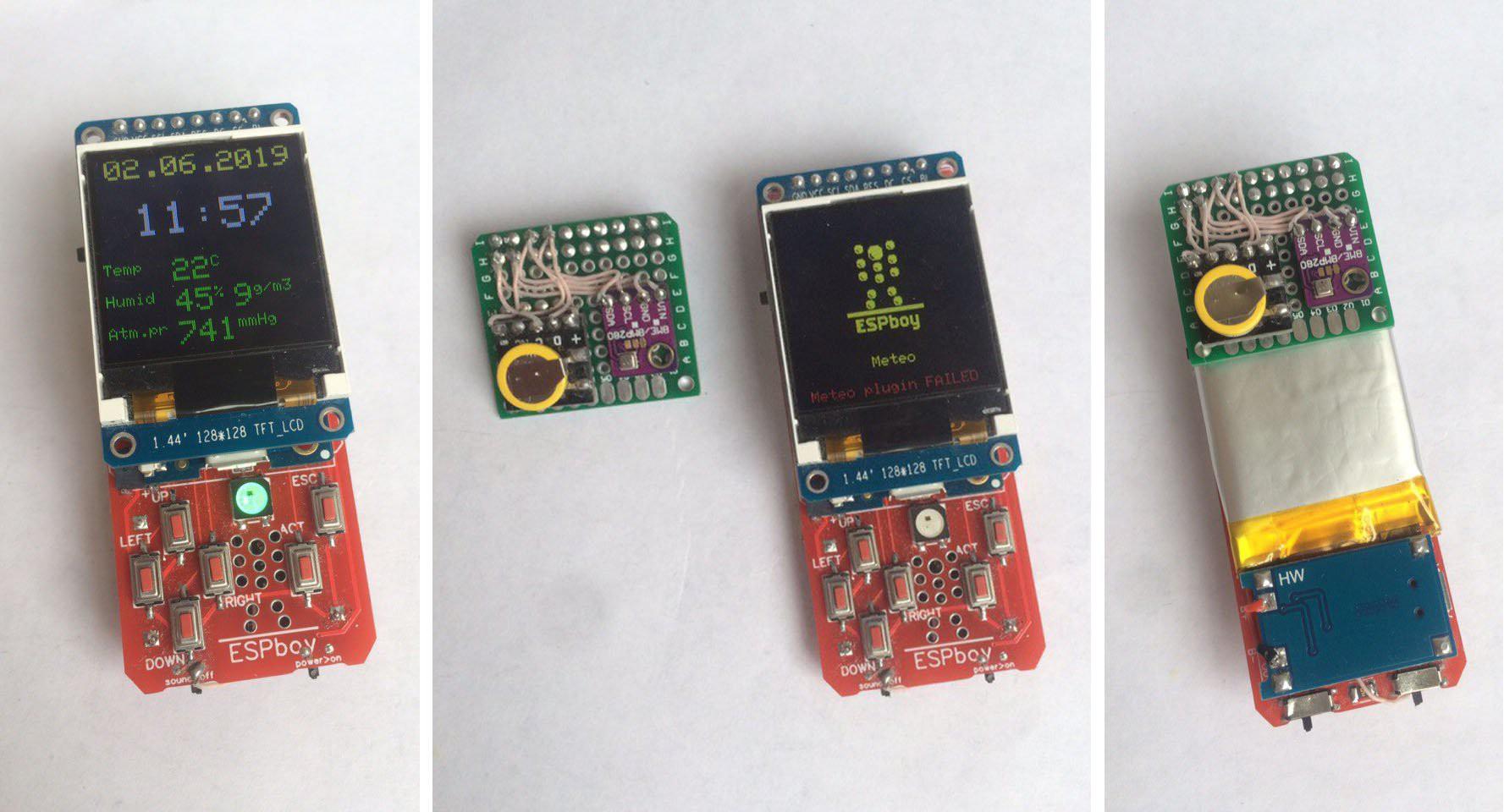 Часть 2: Mодули и AppStore. ESPboy — гаджет для ретро игр и экспериментов с IoT - 7