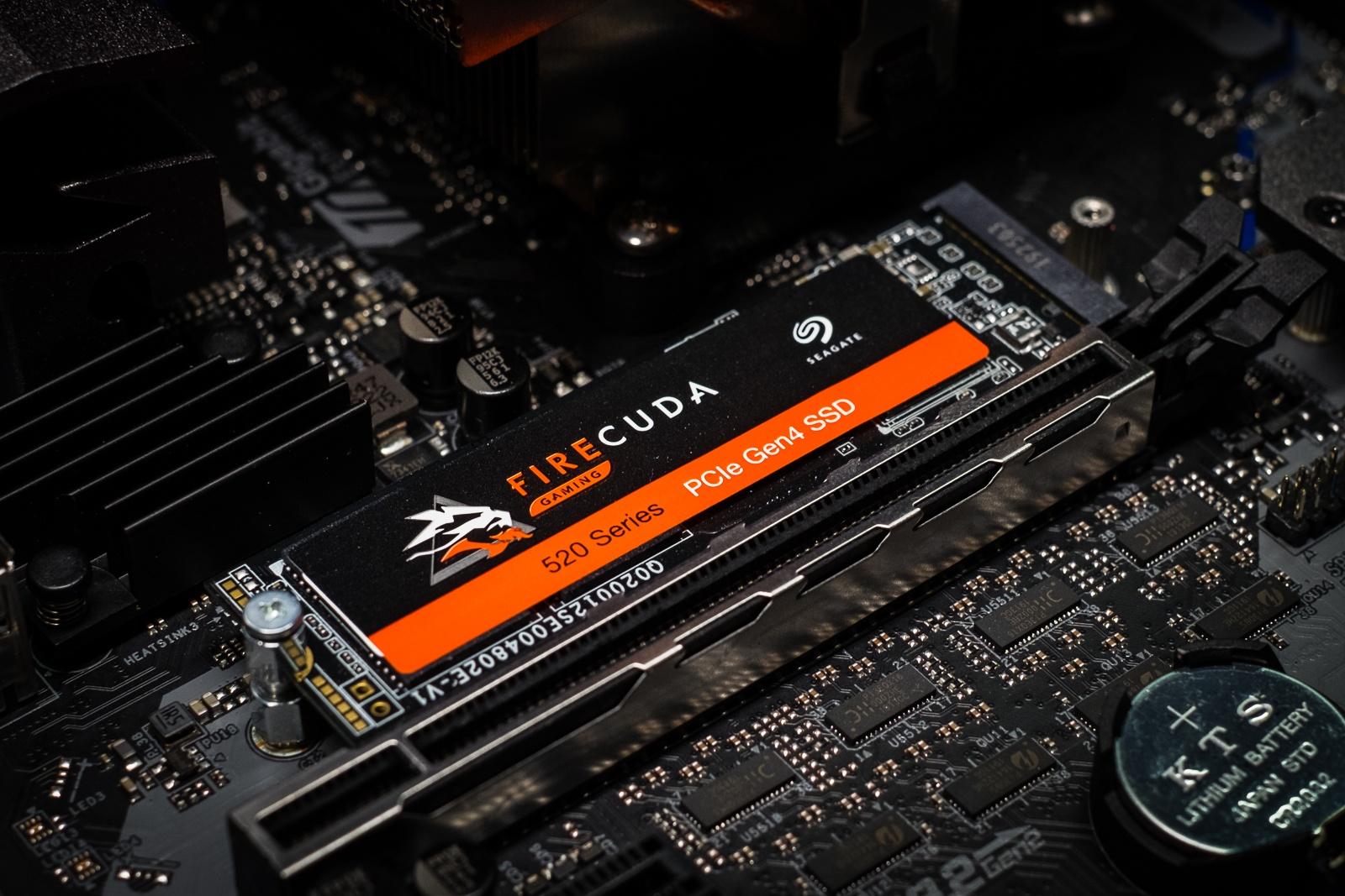 Зачем нужен SSD с интерфейсом PCI Express 4.0? Объясняем на примере Seagate FireCuda 520 - 1