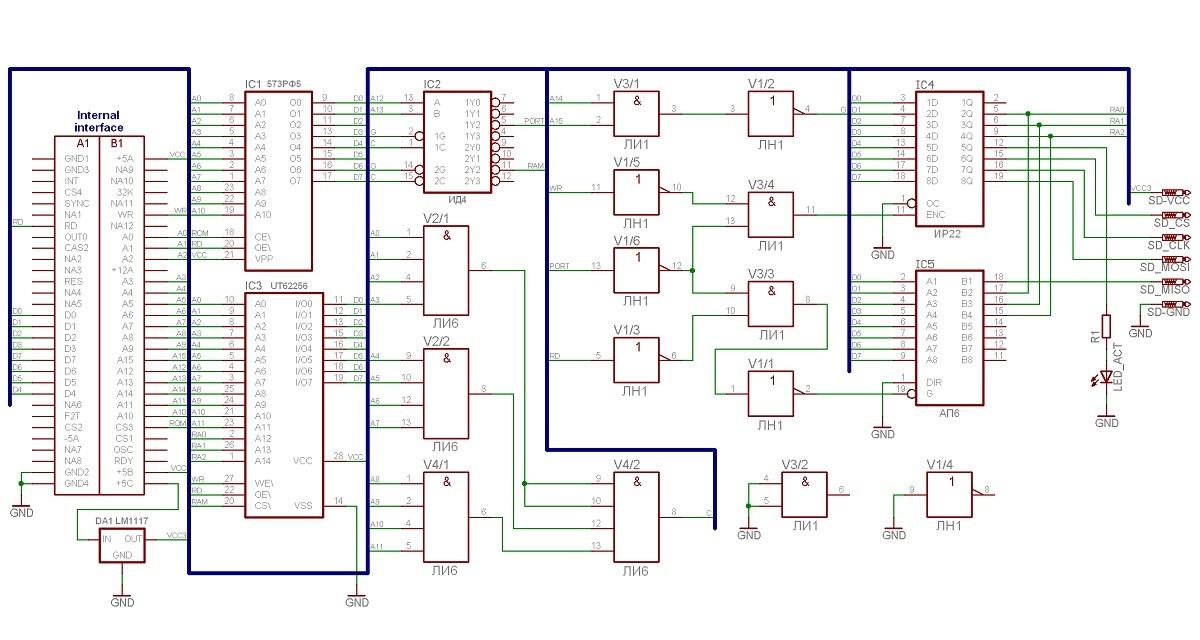 Микроша. Глава первая. Контроллер SD карты - 4