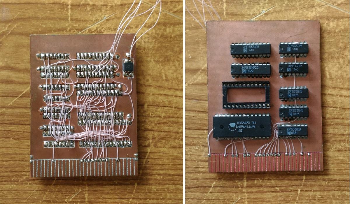 Микроша. Глава первая. Контроллер SD карты - 5