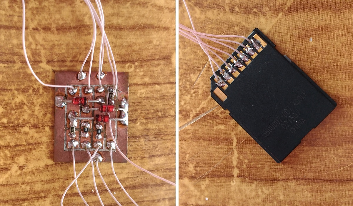 Микроша. Глава первая. Контроллер SD карты - 6
