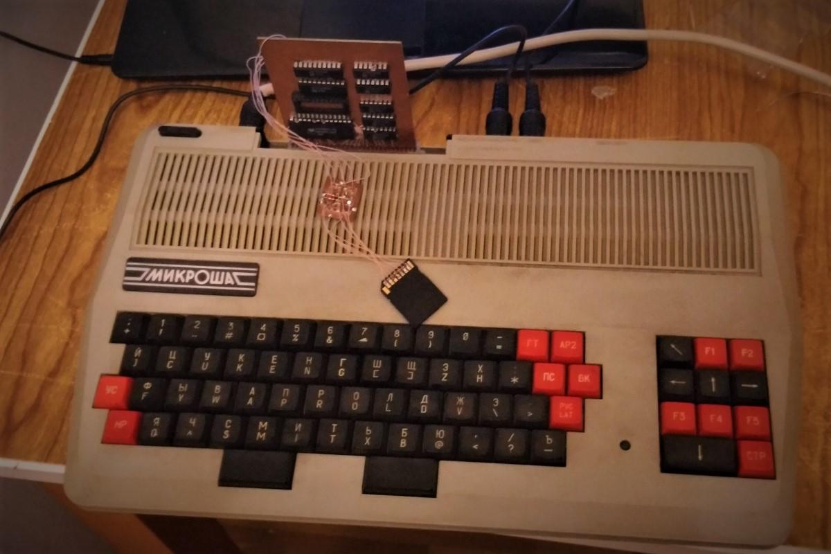 Микроша. Глава первая. Контроллер SD карты - 8