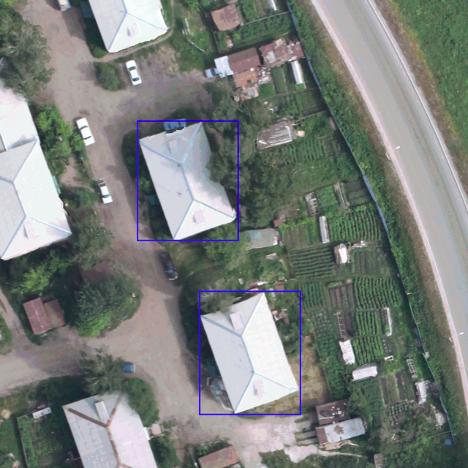 MASK-RCNN для поиска крыш по снимкам с беспилотников - 7