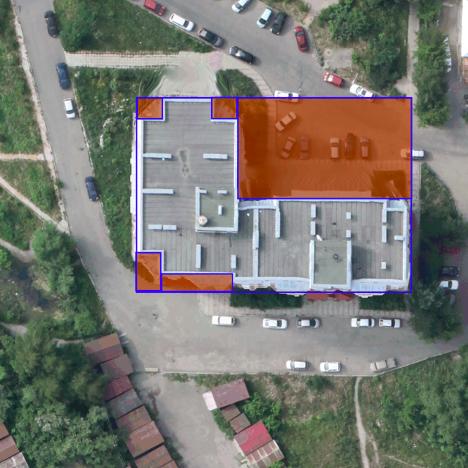 MASK-RCNN для поиска крыш по снимкам с беспилотников - 8