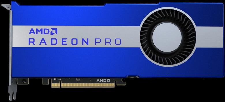 Представлена видеокарта для рабочих станций AMD Radeon Pro VII