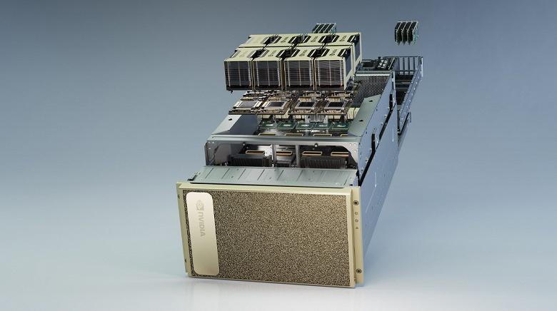 Nvidia DGX A100 — компактная станция с производительностью в 5 PFLOPS. Теперь на процессорах AMD