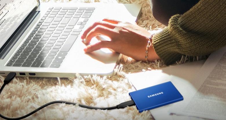 Samsung что-то намудрила. Портативный SSD T7 поступил в продажу по странной цене