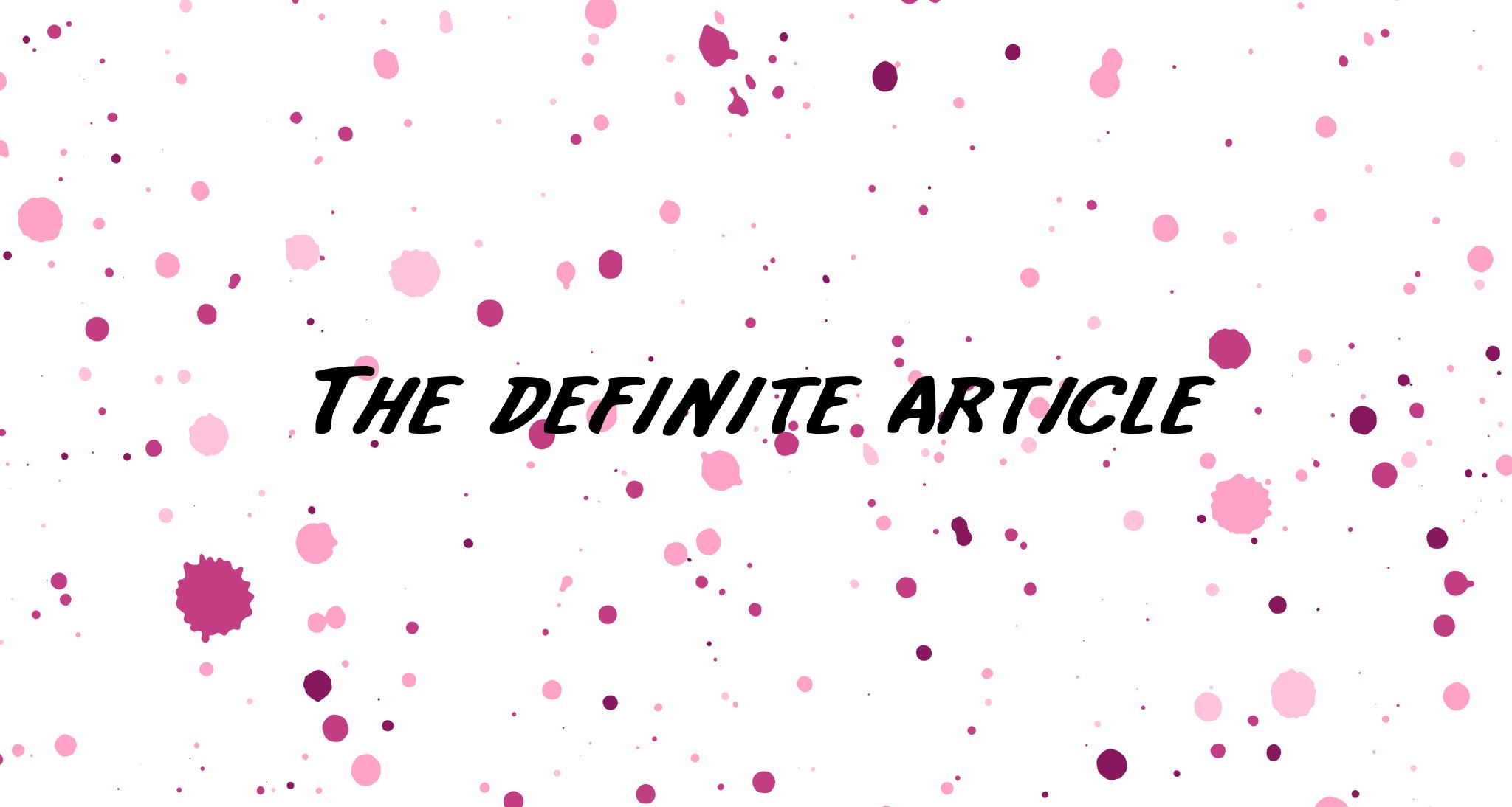 Артикли в английском: безжалостная война правил и исключений - 3