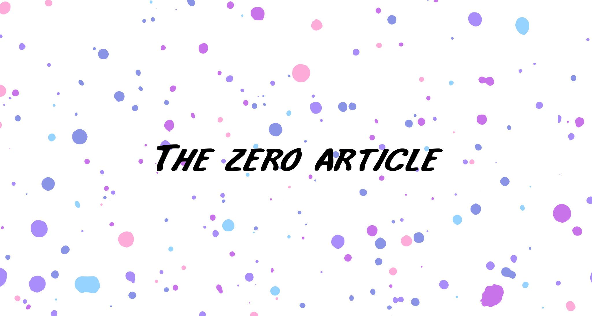 Артикли в английском: безжалостная война правил и исключений - 4