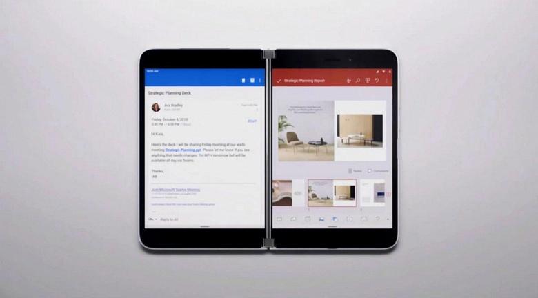 Возврат Microsoft к Android получится неоднозначным. Смартфону Surface Duo приписывают маленький аккумулятор и отсутствие NFC