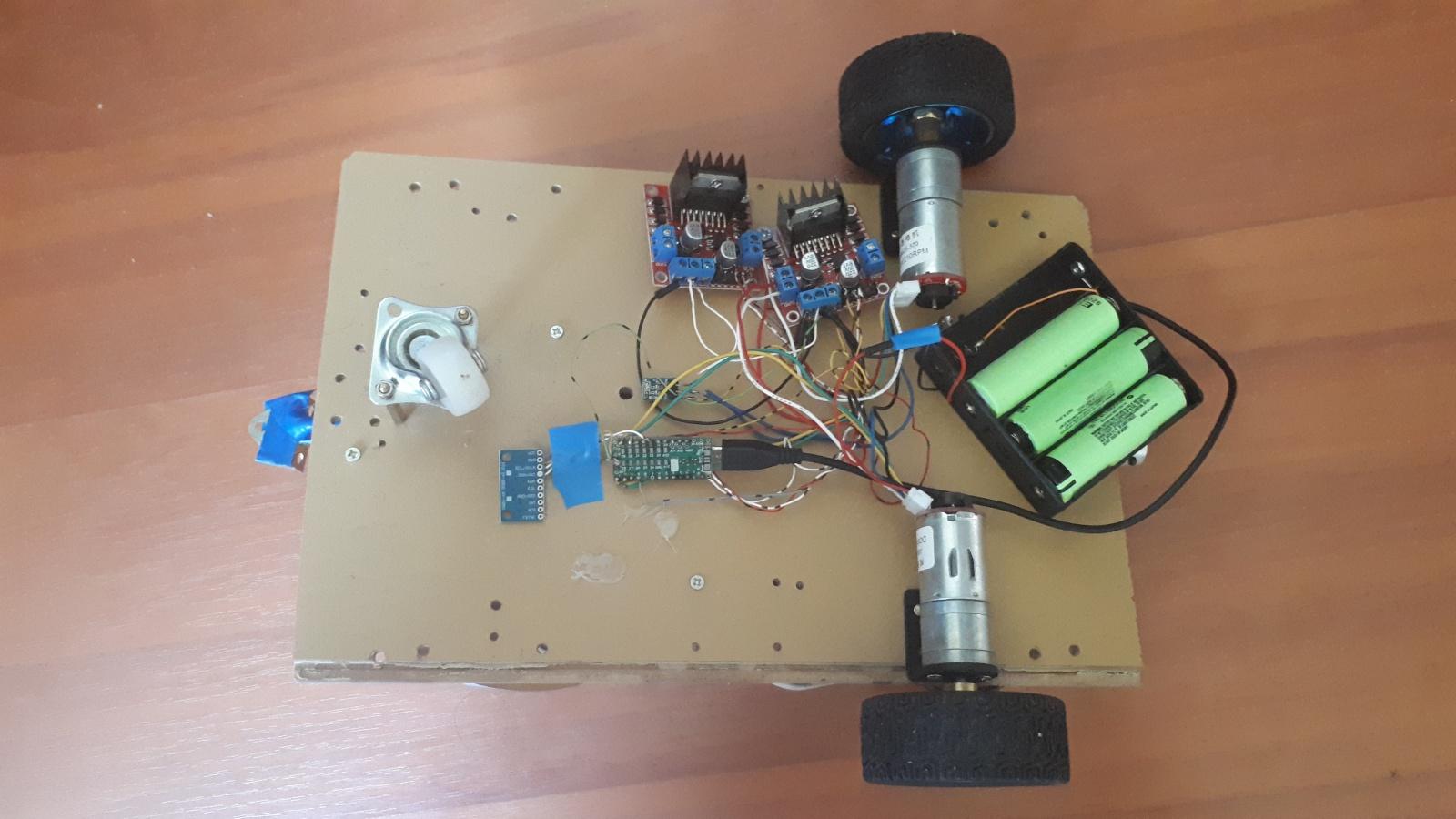 Робот-тележка 2.0. Автономная навигация домашнего робота на базе ROS. Часть 1 - 3