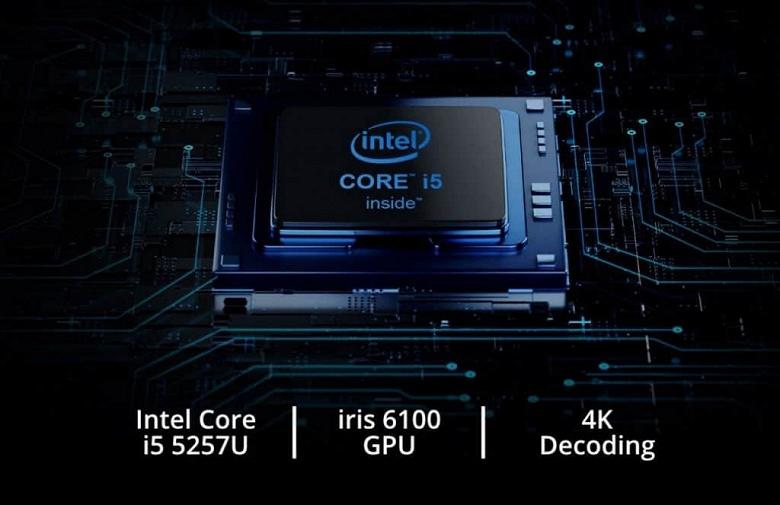Мини-ПК Chuwi CoreBox i5 получил процессор Intel Core i5-5257U