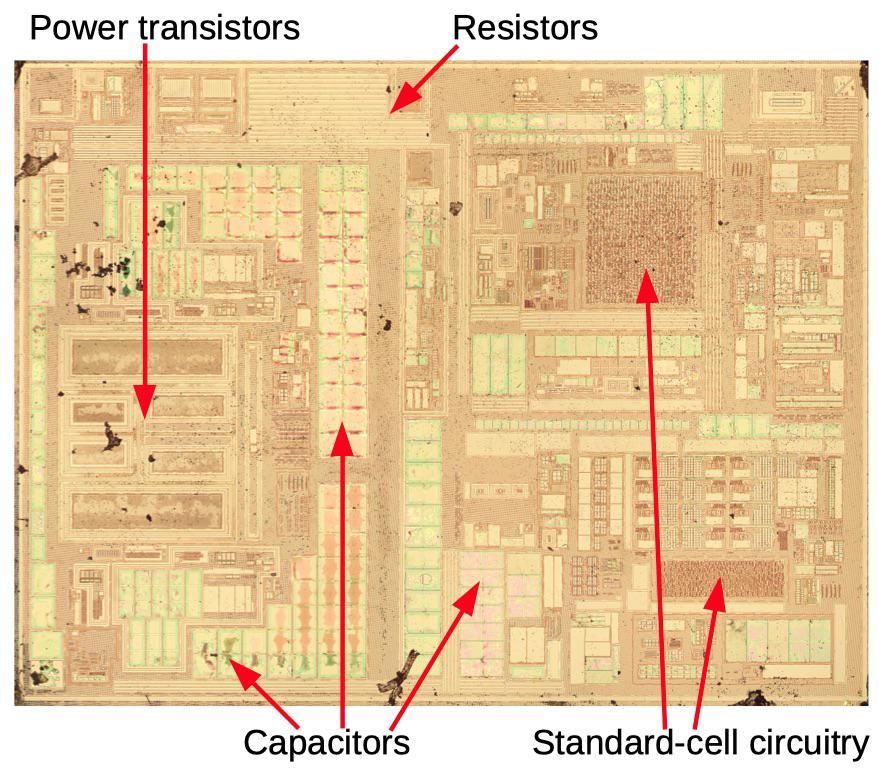 Вскрываем чип гальванической развязки с крохотным трансформатором внутри - 11