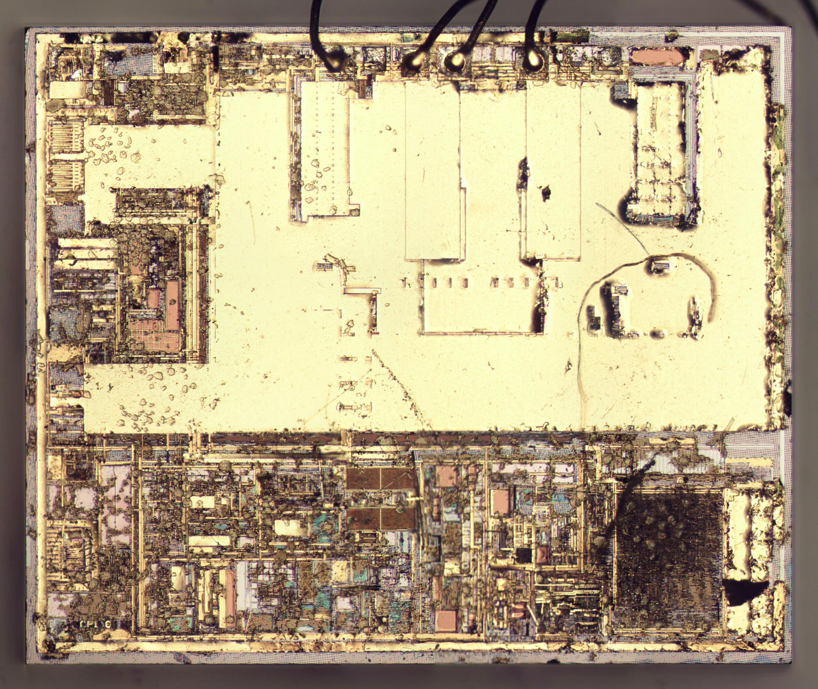 Вскрываем чип гальванической развязки с крохотным трансформатором внутри - 16