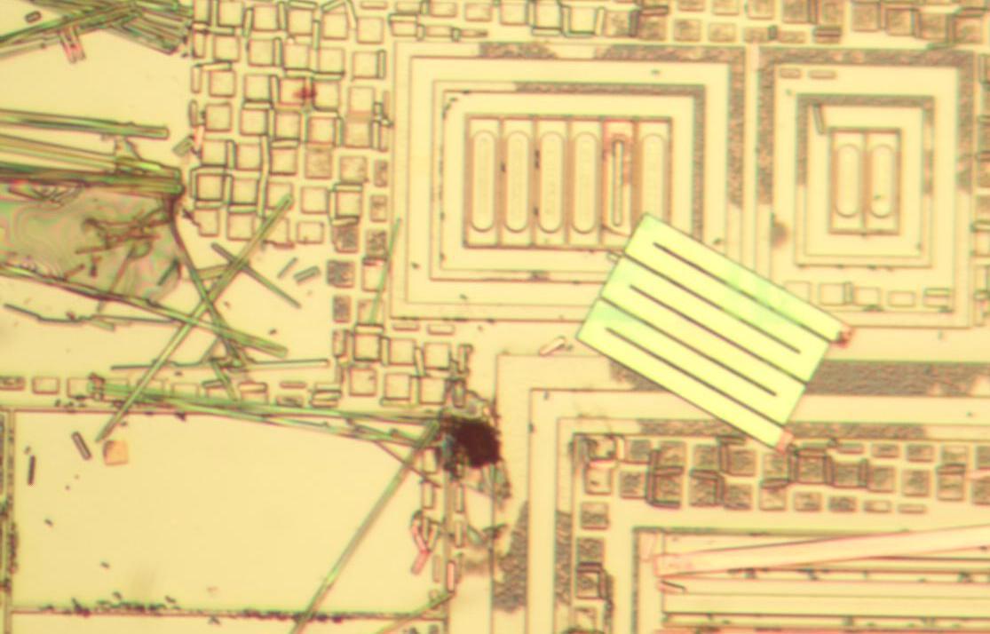 Вскрываем чип гальванической развязки с крохотным трансформатором внутри - 17