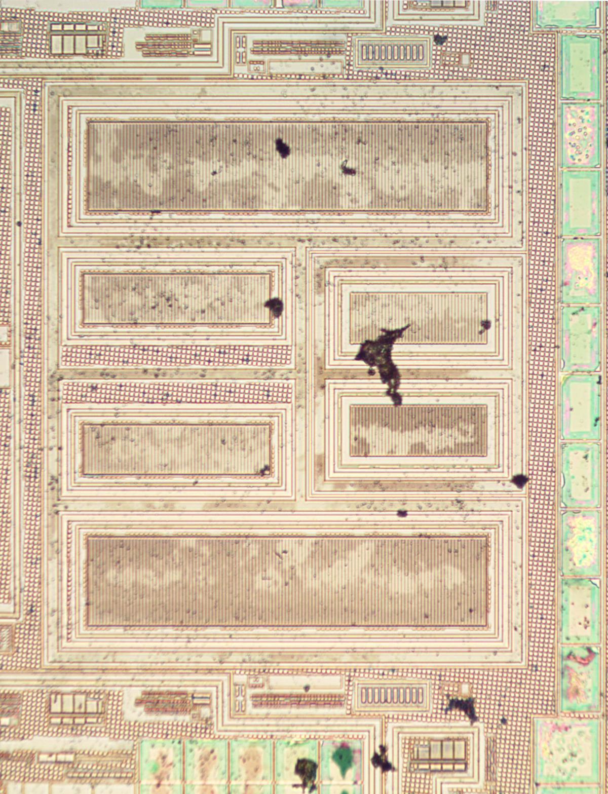 Вскрываем чип гальванической развязки с крохотным трансформатором внутри - 19