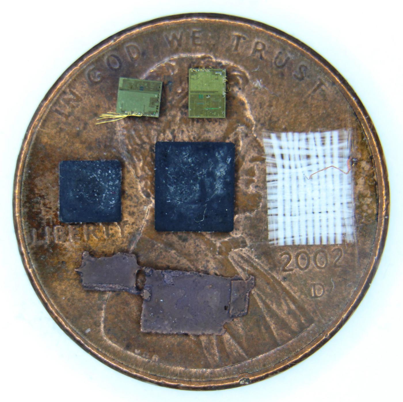 Вскрываем чип гальванической развязки с крохотным трансформатором внутри - 2