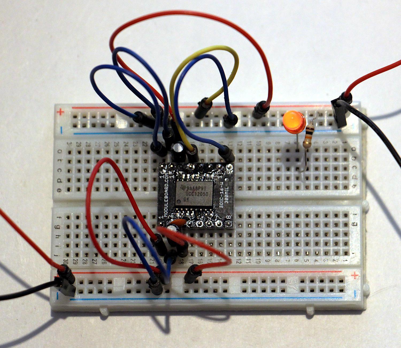 Вскрываем чип гальванической развязки с крохотным трансформатором внутри - 20