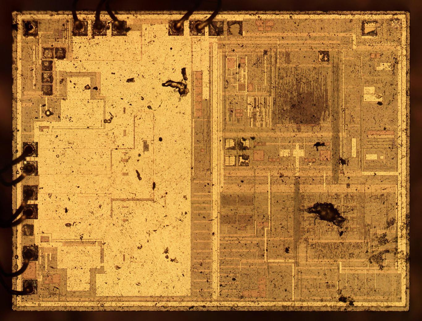 Вскрываем чип гальванической развязки с крохотным трансформатором внутри - 7