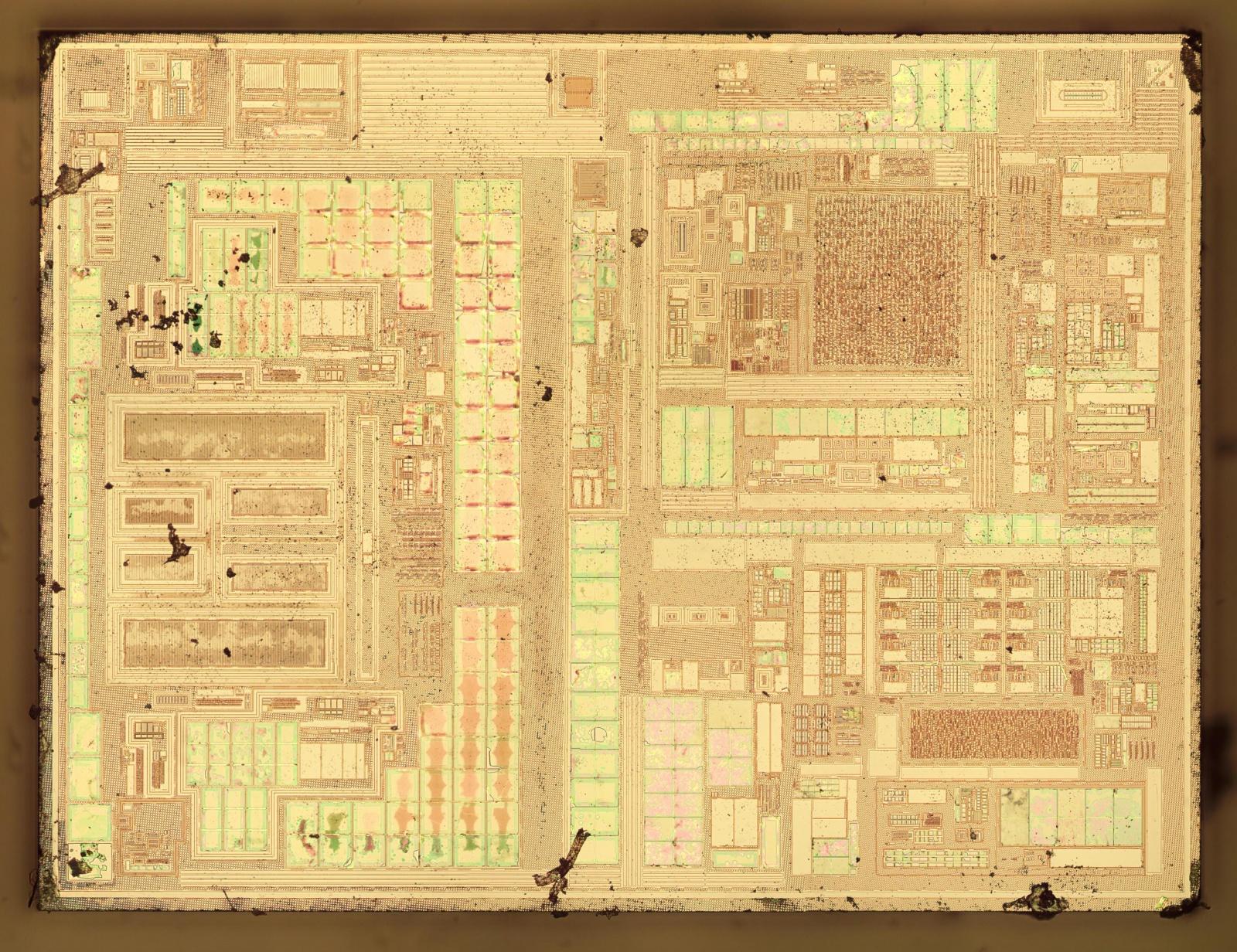 Вскрываем чип гальванической развязки с крохотным трансформатором внутри - 8