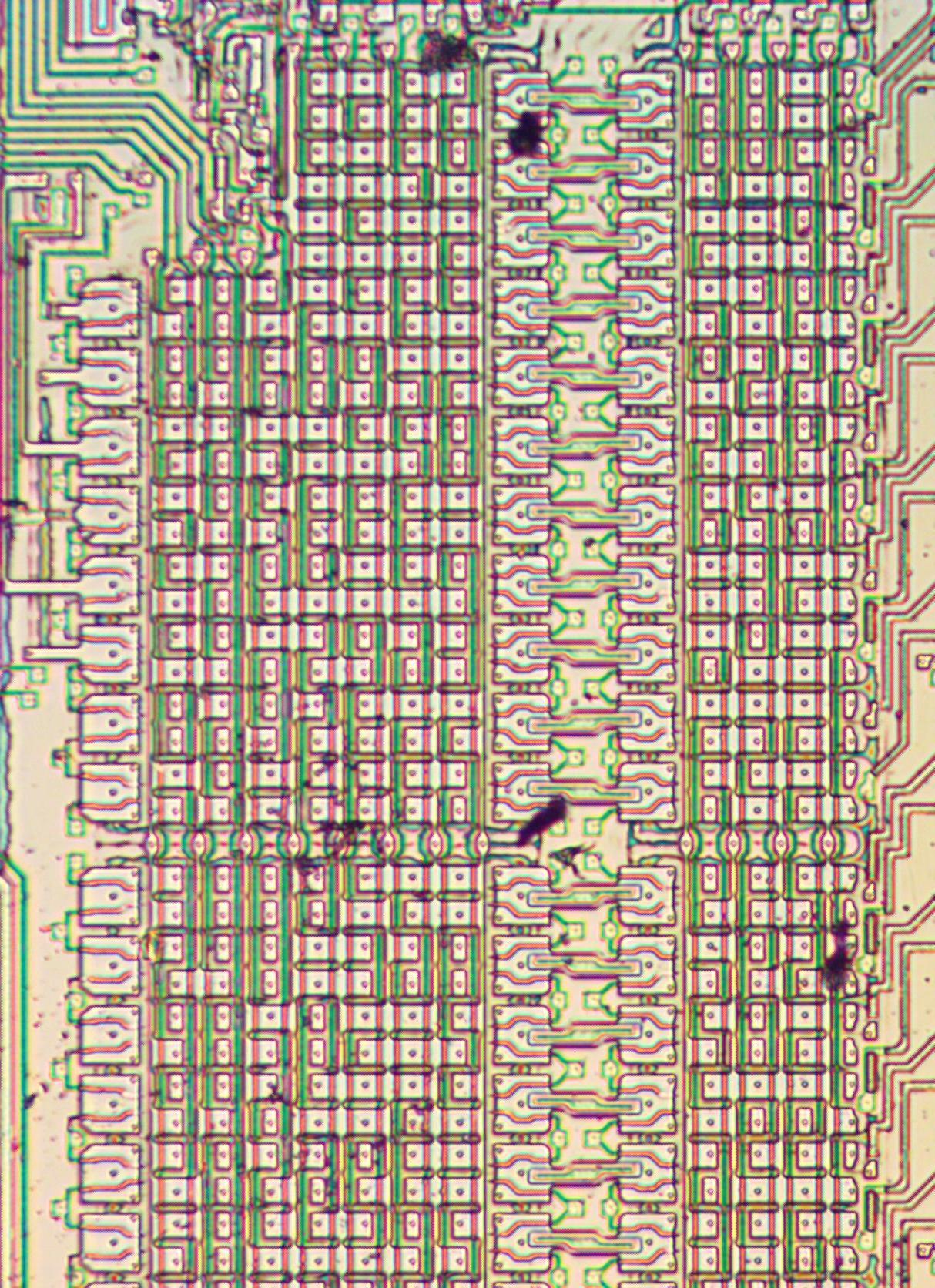 Извлекаем константы с кристалла математического сопроцессора 8087 - 2