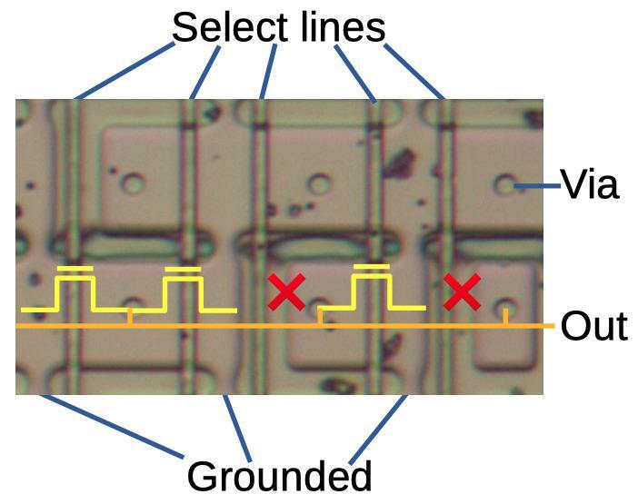 Извлекаем константы с кристалла математического сопроцессора 8087 - 4