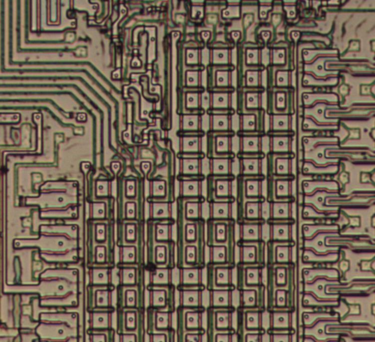 Извлекаем константы с кристалла математического сопроцессора 8087 - 5