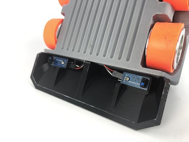 Робо-сумо: интеллектуальные бои роботов - 11