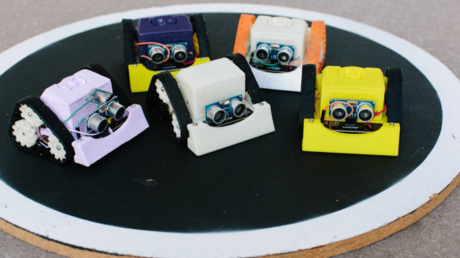 Робо-сумо: интеллектуальные бои роботов - 1