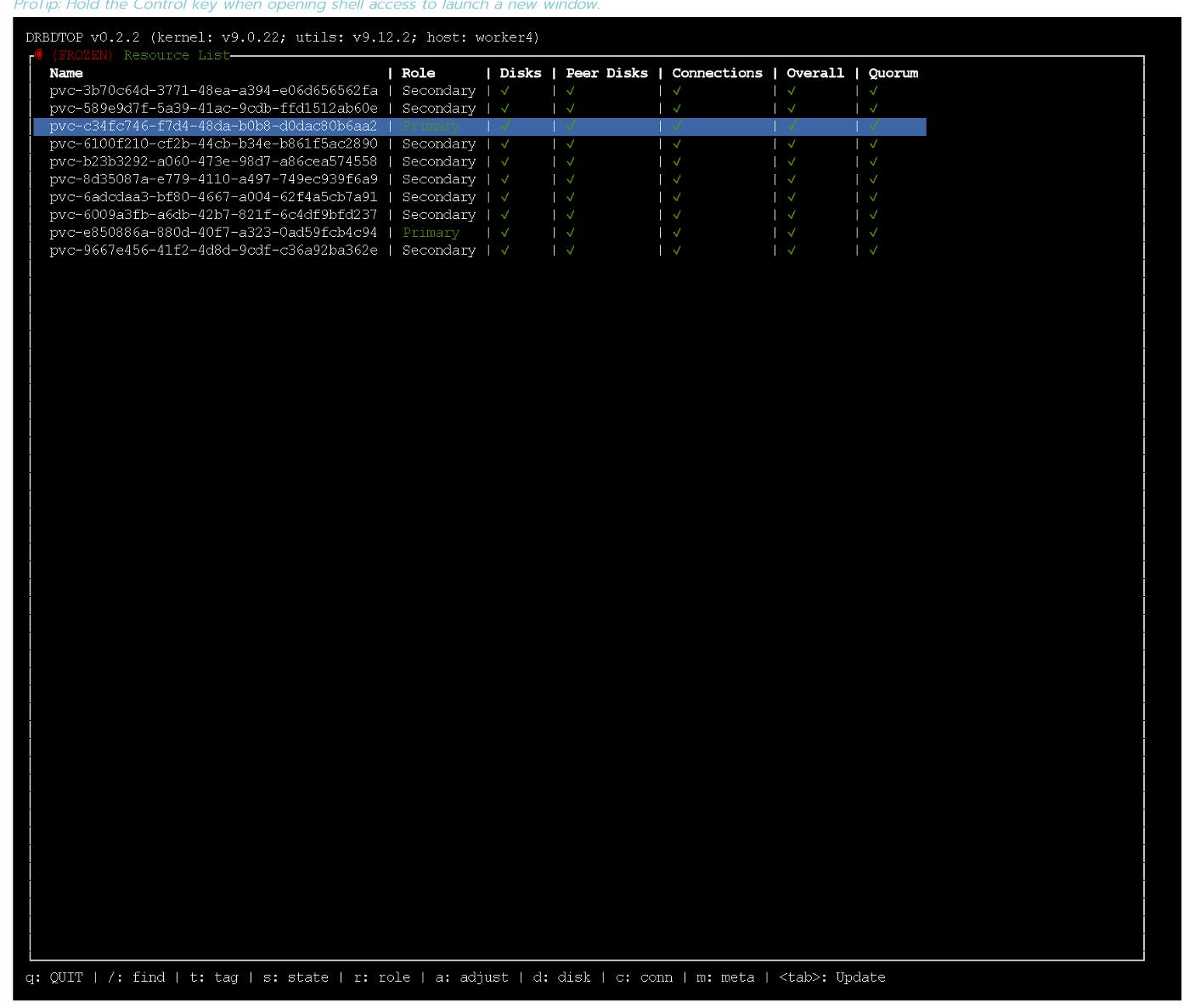 Состояние и производительность решений для постоянного хранения данных в Kubernetes - 11