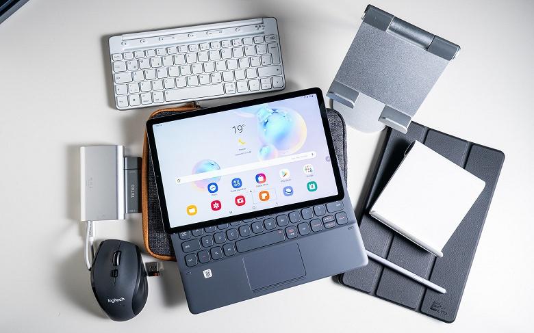 Samsung Galaxy Tab S7+ будет огромным планшетом с очень большим аккумулятором