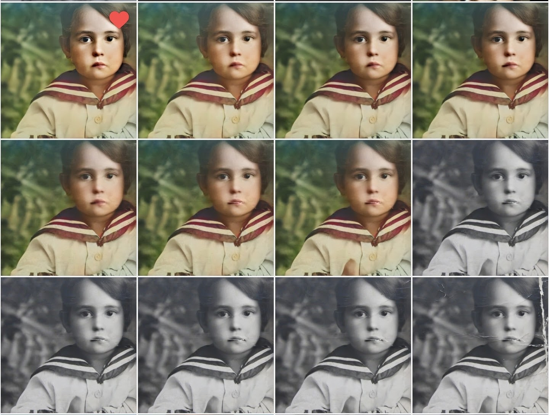 Как живые: наш опыт редактирования старых фотографий - 13