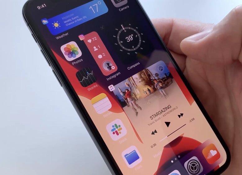 Потрясающие виджеты в iOS. Концепт художника показывает, как они могли бы выглядеть