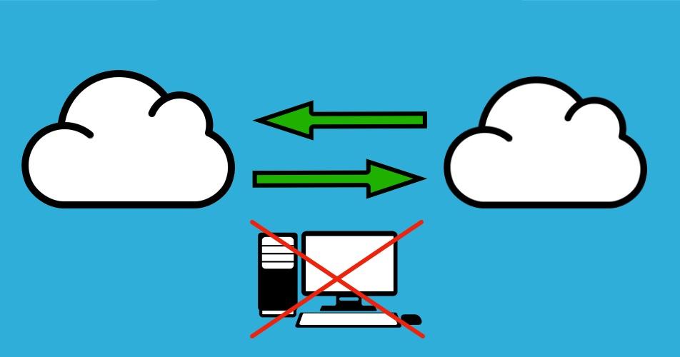 Как перенести файлы с одного облака на другое минуя свой ПК - 1