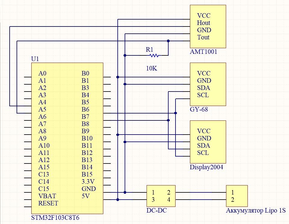 Колхозим метеостанцию на STM32 (Bluepill, STM32IDE, HAL) - 2