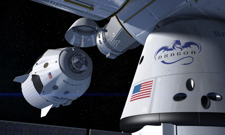 «Роскосмос» рассматривает вариант доставки российских космонавтов на МКС посредством космического корабля SpaceX