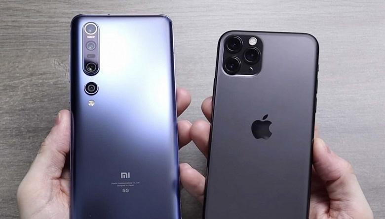 Что общего у Xiaomi и Apple? Компании меньше других пострадали от падения рынка смартфонов