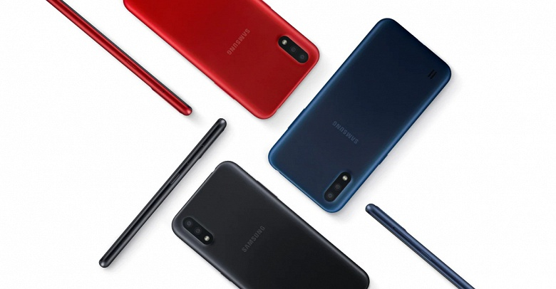 Именитый конкурент для бюджетных Xiaomi и Redmi. В России стартовали продажи Samsung Galaxy M01 на платформе Qualcomm