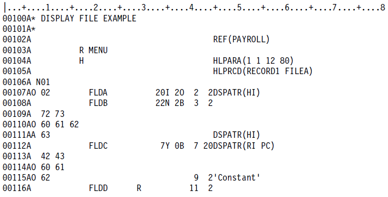 О разработке интерактивных приложений под ОС IBM i (aka AS-400) - 2