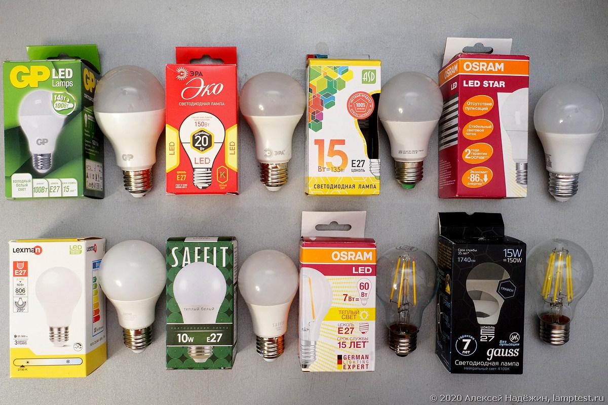 Тест старения светодиодных ламп - 2