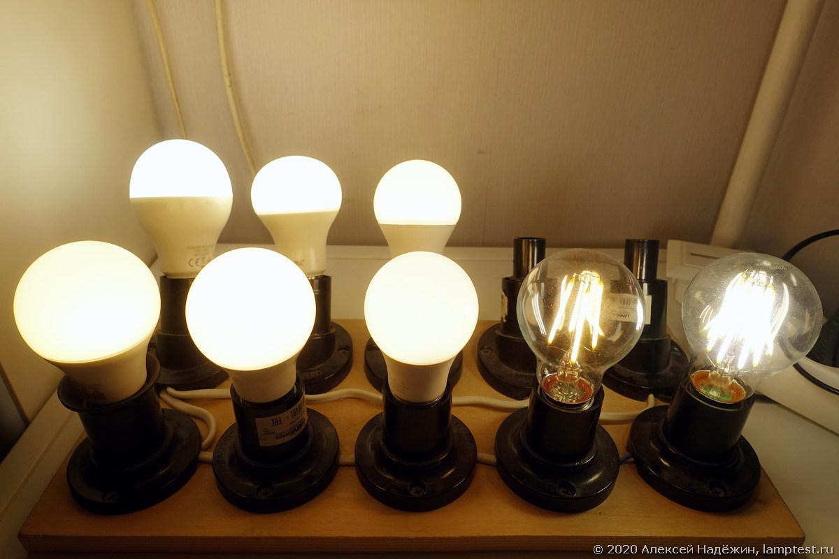 Тест старения светодиодных ламп - 1