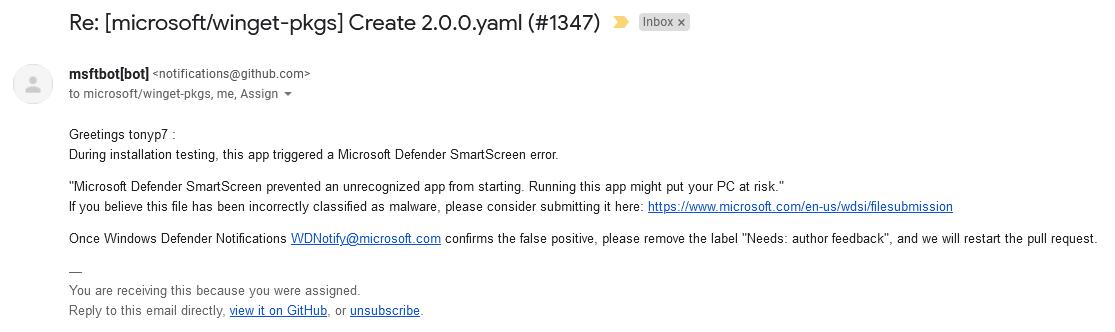 Windows Defender SmartScreen вредит независимым разработчикам - 3